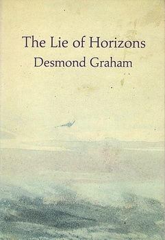 poetry book cover The Lie of Horizons by Desmond Graham