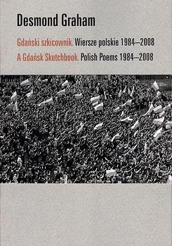 poetry book cover Gdański szkicownik by Desmond Graham
