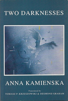 poetry book cover Two Darknesses Anna Kamienska