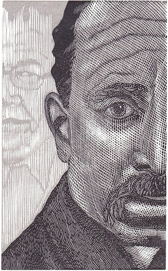Dreaming of Rilke Engraving