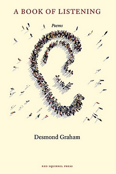 poetry book cover A Book of Listening by Desmond Graham
